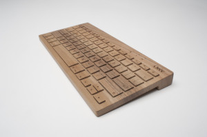 Oree Wooden Wireless Keyboard